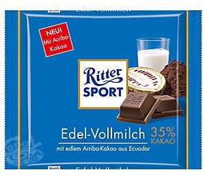 Ritter Sport Edel Vollmilch 100 g