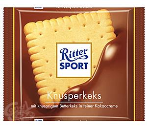 Ritter Sport Knusperkeks a 100 g