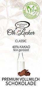 Oh! Lecker Classic Vollmilchschokolade 80 g