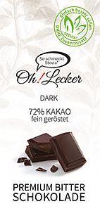 Oh! Lecker Classic Bitterschokolade 80 g