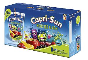 Capri Sun Monster Alarm 10 x 200 ml