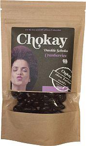 Chokay Dunkle Schokoladen Cranberries 110 g
