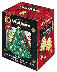 "Walkers Mini Shortbread ""Christmas Trees"" 150 g"