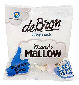 Marshmallows zuckerfrei v. de Bron 75 g
