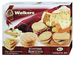 Walkers Scottish Biscuits 250 g