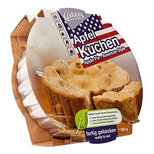 Cakees Apfelkuchen American Style 500 g