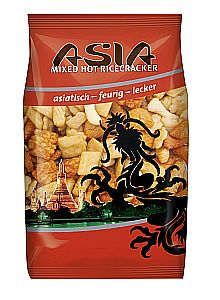 XOX Asia Mixed Hot Ricecracker 150 g