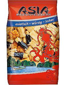 XOX Asia Mixed Spicy Ricecracker 125 g