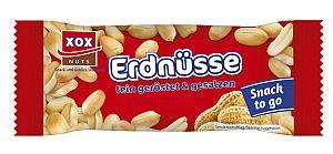 XOX Erdnüsse fein geröstet und gesalzen 50 g