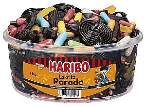 Haribo Lakritz-Parade 1000 g