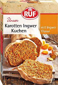RUF Karotten Ingwer Kuchen 510 g