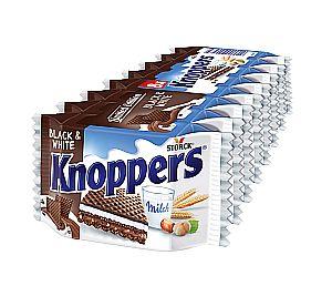 Knoppers Black & White 8 Stück a 25 g