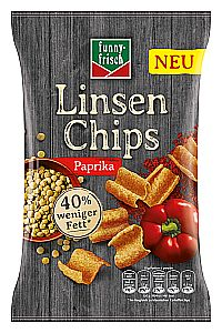 funny-frisch Linsen Chips Paprika 90 g
