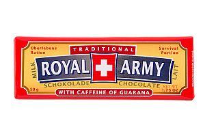 Royal Army Milch-Schokolade 50 g