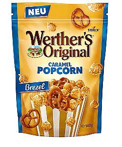 Werther`s Original Caramel Popcorn Bretzel 140 g