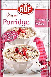 RUF Porridge Cranberry Kokos 65 g