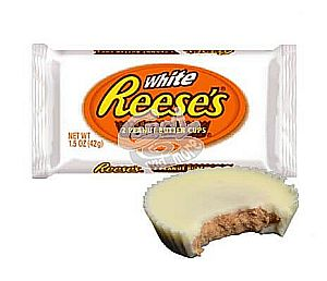 Reese`s WHITE Peanut Butter Cups 2er 42 g