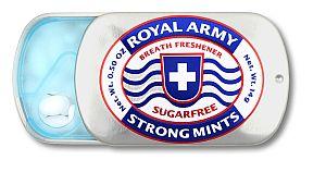 Royal Army Strong Mints zuckerfreie Pastillen 14 g