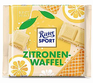 Ritter Sport Zitronenwaffel 100 g