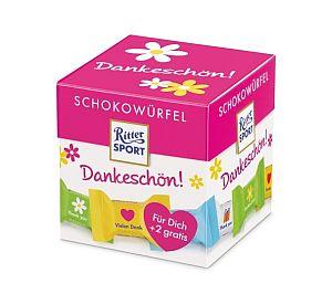Ritter Sport Schokowürfel Dankeschön 176 g