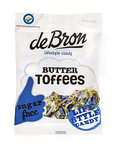 Buttertoffee zuckerfrei v. de Bron 70 g