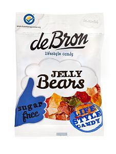 Jelly Bears zuckerfrei v. de Bron a 90 g