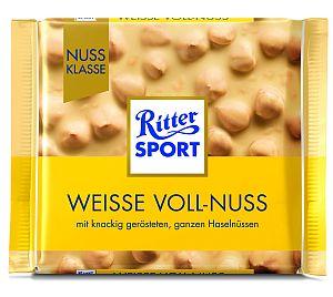 Ritter Sport Weisse Voll-Nuss a 100 g