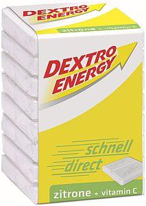 Dextro Energy Würfel Zitrone + Vitamin C 46 g