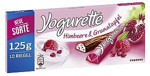 Yogurette Himbeere & Granatapfel 125 g