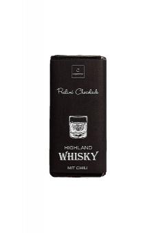 Chili & Highland Whisky Praline-Chocolade v. Coppeneur 75 g