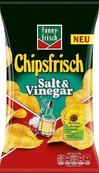 funny-frisch Chipsfrisch Salt & Vinegar 175 g