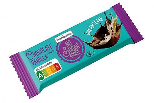 Frankonia No Sugar Added Chocolate Vanilla Riegel 50 g