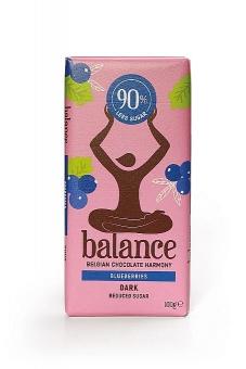 Balance Dark Blueberries Chocolate 100 g
