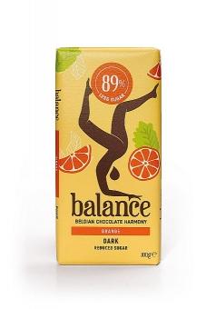Balance Dark Orange Chocolate 100 g