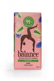 Balance Dark Pistachios Chocolate 100 g