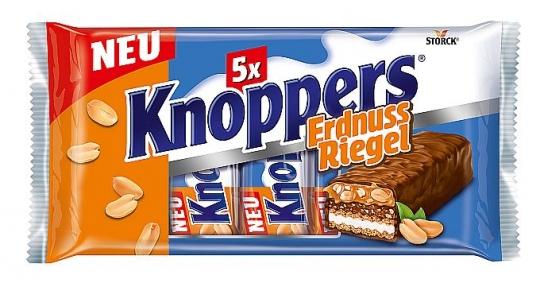 Knoppers Erdnussriegel 5er Pack 200 g