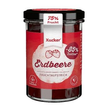 Xucker Fruchtaufstrich Erdbeere 220 g
