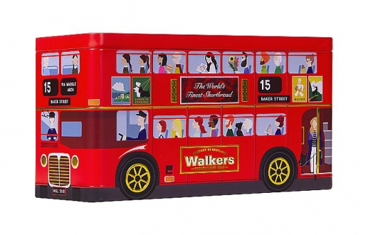 """Walkers Biscuit Selection """"London Bus"""" 250 g"""