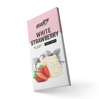 GOT7 Chocolate Bar White Strawberry 75 g