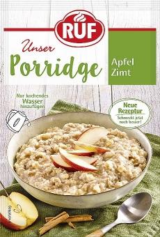 RUF Porridge Apfel Zimt 65 g
