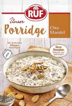 RUF Porridge Chia Mandel 65 g