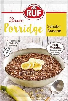 RUF Porridge Schoko Banane 65 g