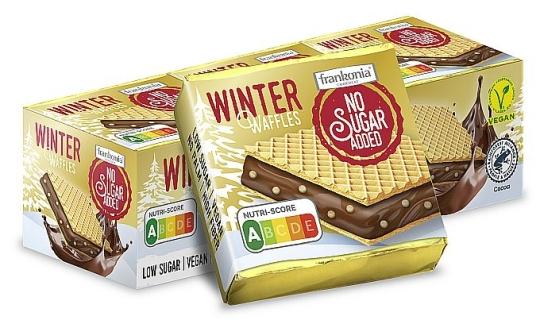 Frankonia No Sugar Added WINTER Waffles 175 g