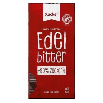 Xucker Edelbitter-Schokolade 80 g