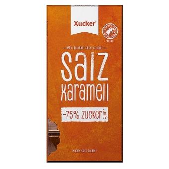 Xucker Vollmilch Schokolade mit Salz & Xaramell 80 g