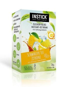 INSTICK Schwarzer Tee Zitrone 12 Sticks a 3 g