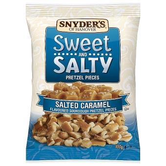 Sweet and Salty Caramel v. Snyder`s of Hanover 100 g