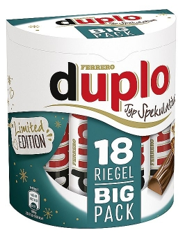 duplo Riegel Typ Spekulatius Big Pack 327 g