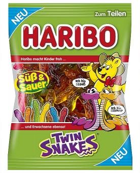 Haribo Twin-Snakes 175 g