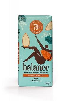Balance Milk Almonds and Sea Salt Chocolate 100 g